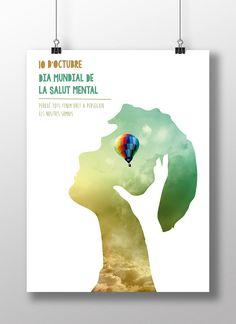 Día Mundial de la salud mental | Cristina Casas Poster