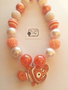 A personal favorite from my Etsy shop https://www.etsy.com/listing/456566860/finding-nemo-chunkybubblegum-bead