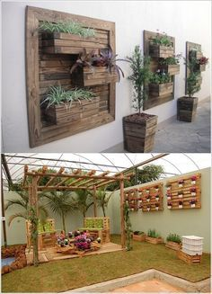 Neat 5 Spectacular Outdoor Wall Decor Ideas that You'll Love – www.amazinginteri… The post 5 Spectacular Outdoor Wall Decor Ideas that You'll Love – www.amazinginteri…… appeared first on 99 Decor . Outdoor Wall Art, Outdoor Walls, Outdoor Living, Outdoor Decor, Patio Wall Decor, Outdoor Wall Decorations, Outside Wall Decor, Outdoor Wall Planters, Porch Wall