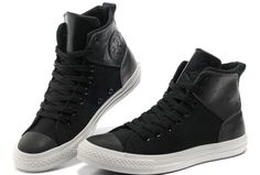 New Stars Leather Converse Chuck Taylor All Star City Lights Black High Tops Canvas Sneakers [S5020201] - $58.00 : Discount Converse All Star Sneakers Sale,Converse All Star Sandals,Comics and Womens Platform Sneakers