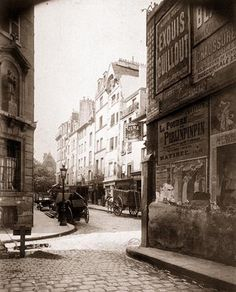 Eugene Atget.  Early French photographer who helped me fall in love with Paris.