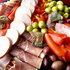 Pepper Jazz Antipasto Platter. Starting our jalapeño stuffed green olives. They are a bits salty with just a hint of spice. This is perfect while relaxing in the sun with any drink.   647-298-6059   info@pepperjazz.ca