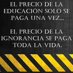 Que viva la educación pública, láica  y gratuita.