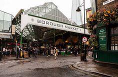 Pre-Cruise: London, England. Borough Market.
