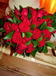 Rosas vermelhas para Larissa