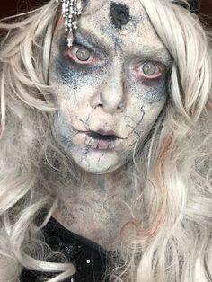 Ghostly flapper  Makeup by me Flapper Makeup, Horror Makeup, Halloween Face Makeup, Scary Makeup