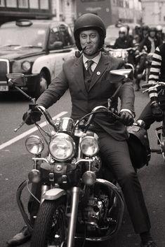 Distinguished Gentleman's Ride Virago