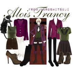 """[Kuroshitsuji II] Alois Trancy"" by animangacouture on Polyvore  www.otakucouture.com"
