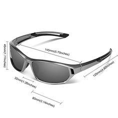 Ewin E31 Lunettes de soleil de sport polarisées pour hommes et femmes pour  pratiquer cyclisme conduite ee75c8c35d06