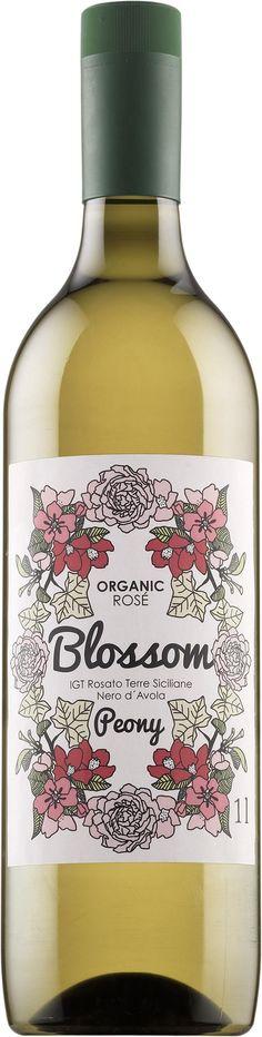 Blossom Peony Organic Rose 2015 muovipullo