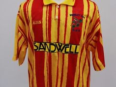 Selling: West Bromwich Albion Away Shirt 1992/93