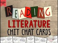 Literature Chat Cards Grades 4-8
