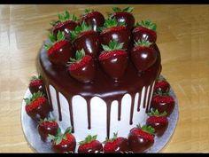 Torta fragole,cioccolato e panna,RICETTA PERFETTA,FACILE e VELOCE - YouTube