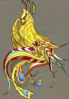 feminine phoenix tattoos | Pin Feminine Phoenix Bird Tattoos on Pinterest
