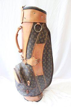 Golf Bags - Louis Vuitton Golf Bag #golf #louisvuitton More #GolfBags
