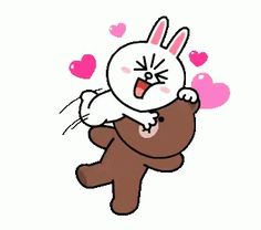The perfect Cony Brown Hug Animated GIF for your conversation. Love You Cute, Love You Gif, Cute Love Pictures, Cute Couple Cartoon, Cute Love Cartoons, Flying Kiss Gif, Calin Gif, Cartoon Kiss, Gif Bonito