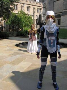 The Legend of Zelda - Sheik cosplay
