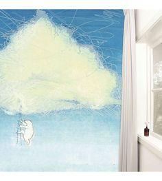 KEK Amsterdam Behang Climbing the clouds multicolour vliespapier 389,6x280cm - wonenmetlef.nl