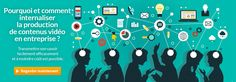 Pourquoi & Comment internaliser la production de contenus vidéo en entreprise ?