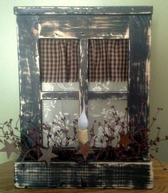 Hey, I found this really awesome Etsy listing at https://www.etsy.com/listing/183856588/primitive-country-decor-primitive-window