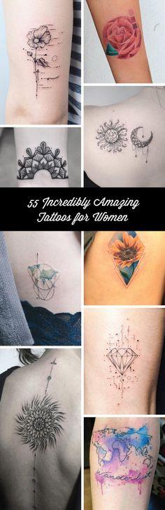 nice Geometric Tattoo - 55 Incredibly Amazing Tattoos for Women Neue Tattoos, Bad Tattoos, Cover Up Tattoos, Body Art Tattoos, Girl Tattoos, Tatoos, Cuff Tattoo, Piercing Tattoo, Tattoo You