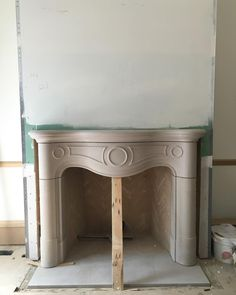Living room fireplace surround. 1848 N. Howe. #MiddleforkLuxury #Yinandyang