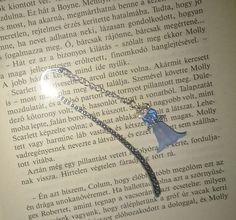 Bookmark Metal- Blue Angel