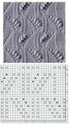 Most recent Cost-Free Knitting Stitches chart Thoughts Knitters be aware that when you undertake a task, it is recommended to be ready to discover some thing new. Knitting Room, Lace Knitting Stitches, Crochet Stitches Patterns, Knitting Charts, Knitting Needles, Free Knitting, Stitch Patterns, Crochet Yarn, Ravelry
