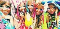 Ganguro group.