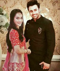 Mr and Mrs Sehgal..💕 #Behir..😊💗❤ Indian Tv Actress, Pakistani Actress, Bollywood Actress, Indian Actresses, Tv Show Couples, Cute Couples Photos, Actors Images, Tv Actors, Saree Designs Party Wear
