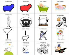 Speech and language activities for Where Is the Green Sheep?