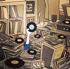 I still play vinyl Vinyl Music, Dj Music, Vinyl Art, Music Stuff, Vinyl Records, Vinyl Poster, House Music, Music Is Life, Pete Mckee