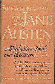 Speaking of Jane Austen
