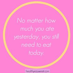 Food never needs to be earned. Fuel your body like you love it.