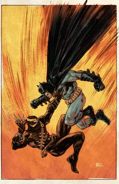 Batman vs. Talon by Gary Brown, colours by Mike Spicer *