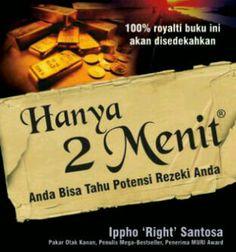 Pengalaman pribadi Ippho Santosa sebagai motivator dan entrepeneur, yang belum pernah dibahas di buku manapun. www.bukukita.com