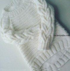 ПппКрасивый пуловер для девочки спицами. Пуловер спицами с асимметричным низом