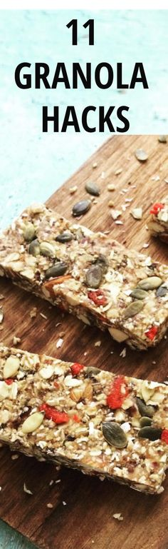 Granola is truly the savior to making every food taste better. But it doesn't always have to be used in a yogurt parfait or alongside milk. Try one of these hacks to make your mornings even better.