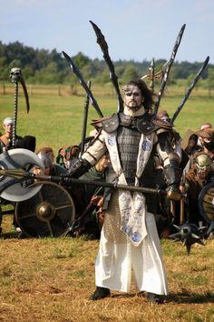 Mythodea 2014 Fantasy Armor, Medieval Fantasy, Conquest Of Mythodea, Larp Armor, Armours, Moon Magic, Fantasy Costumes, Realism Art, Character Costumes