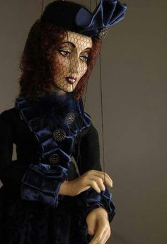 Young Widow - Czech Marionettes