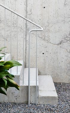 Since 1998 the Web Atlas of Contemporary Architecture Exterior Handrail, Staircase Handrail, Stair Railing, Railing Design, Staircase Design, Contemporary Architecture, Architecture Details, Stairs To Heaven, Steel Stairs