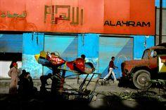 Harry Gruyaert - EGYPT. Cairo. street scene. 1988.