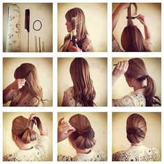 easy step by step hairstyle tutorials for long hair1