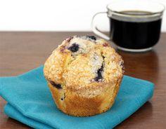 Blueberry Ginger Muffins   MrBreakfast.com