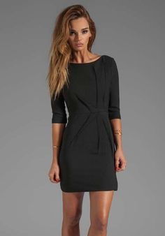 Love the Black Halo Falcon Mini Dress on clothing-item/falcon-mini-dress/agpIS/ Great Classic for your closet!