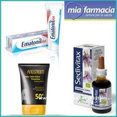Campioni omaggio solari ed altri da MiaFarmacia! - DimmiCosaCerchi.it