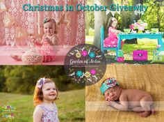 Christmas in October Giveaway!!