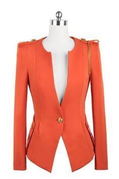 #Orange Blazer #ColoroftheWeek 8/26/2013