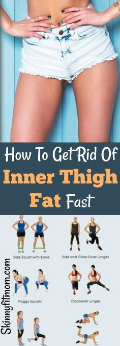 Want to know how to melt inner thigh fat fast? These easy steps to get slim legs work like magic. The result will shock you. #innerthighworkout #slimthighs #thighs