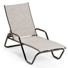 Outdoor Telescope Casual Gardenella Sling Stackable Chaise Lounge - 762D63001, TSC662-93
